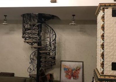 Кованые лестницы ГусарДи