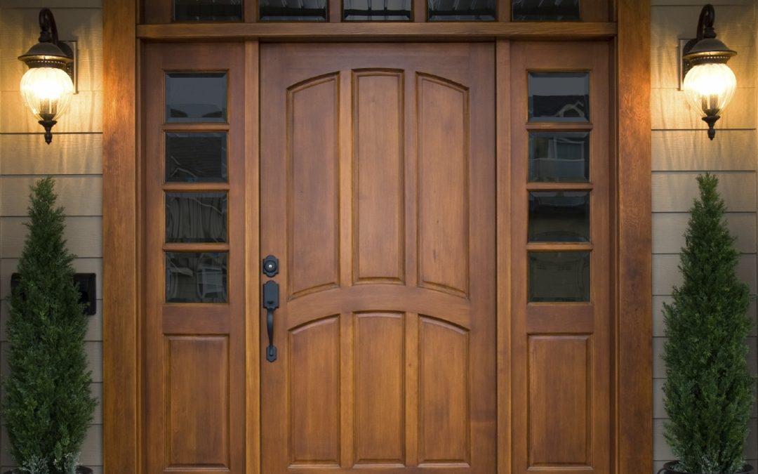 Двери из дуба: красота и величественность